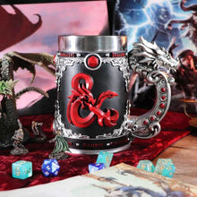 Load image into Gallery viewer, Dungeons & Dragons Fantasy Role Play Die D20 Tankard.