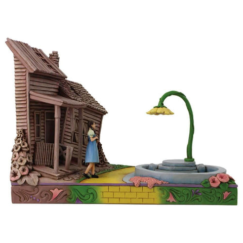 The Wizard of Oz 'Dorothy Stepping Kansas to Oz' Figurine