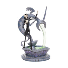 Load image into Gallery viewer, Disney Traditions Soulful Soliloquy Jack Skellington on Fountain Figurine