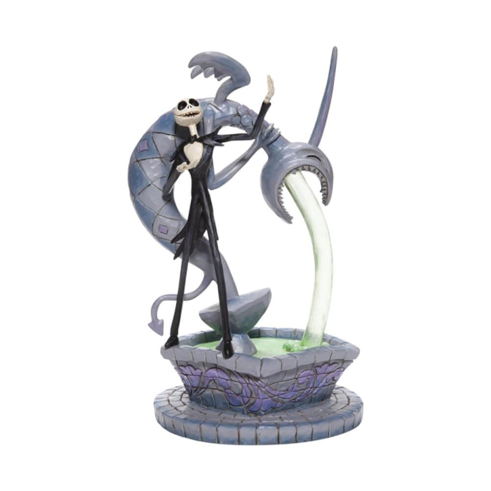 Disney Traditions Soulful Soliloquy Jack Skellington on Fountain Figurine