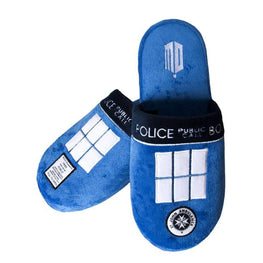 Doctor Who Adult TARDIS Mule Slippers