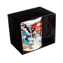 Load image into Gallery viewer, Superman Distressed Comic Strip Coffee Mug