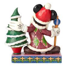Load image into Gallery viewer, Back View of Disney Traditions Mickey Mouse Father Christmas Figurine