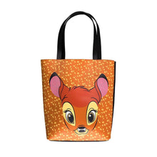 Load image into Gallery viewer, Disney Bambi Face Brown Shopping Bag