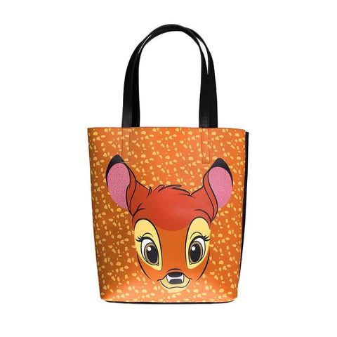 Disney Bambi Face Brown Shopping Bag