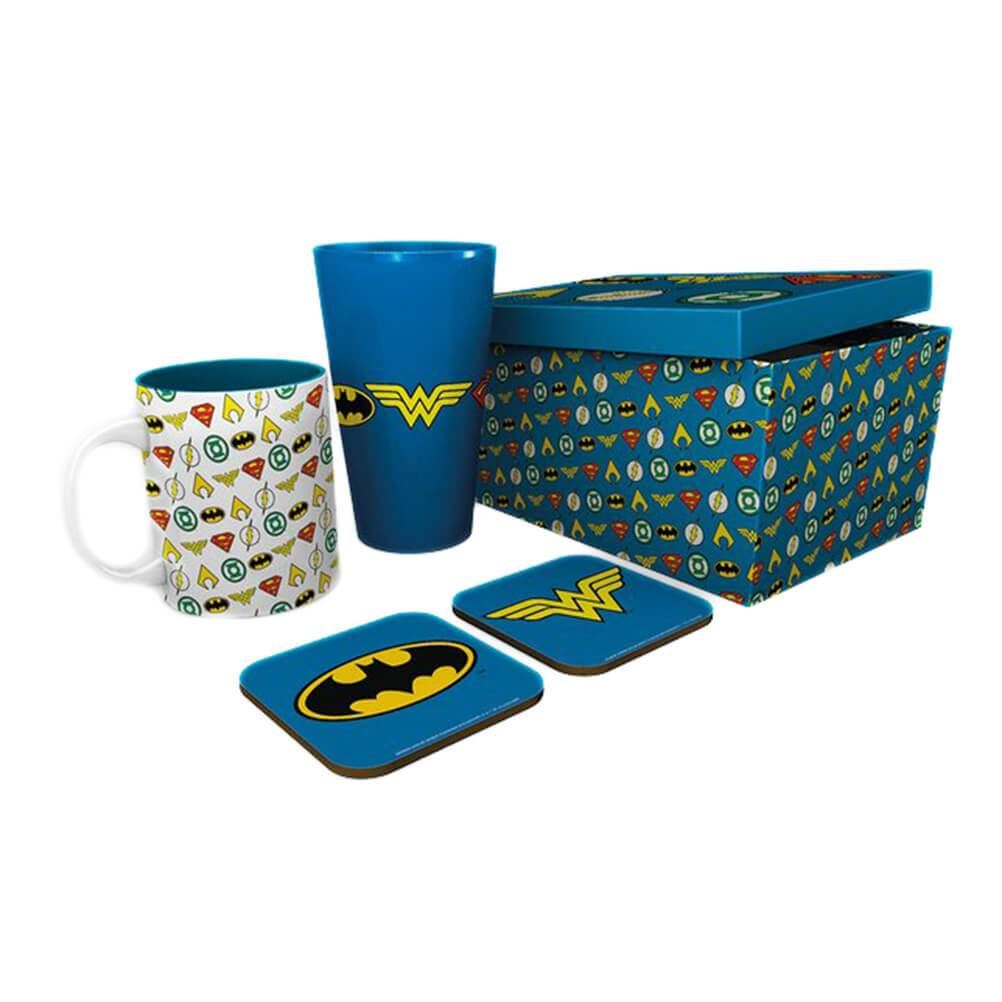 DC Comics Justice League Icons Drinkware Gift Set