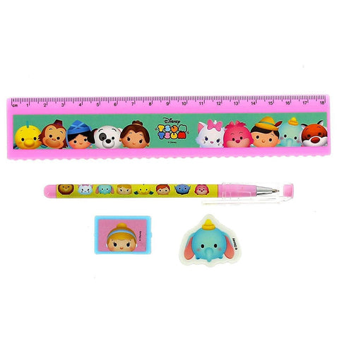 Tsum Tsum Rainbow Stationery Set