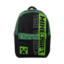 Load image into Gallery viewer, Minecraft Creeper Time To Mine Laptop Backpack