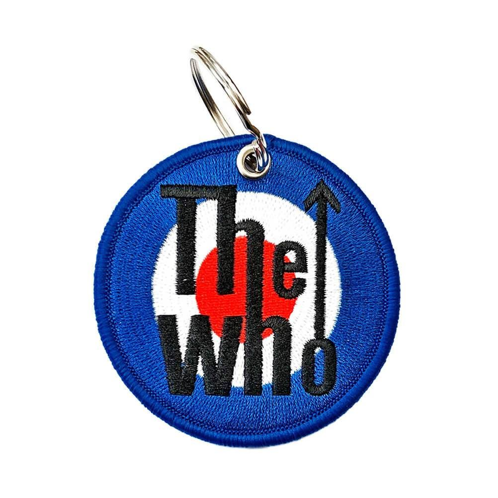 The Who Target Logo Double Sided Patch Keyring
