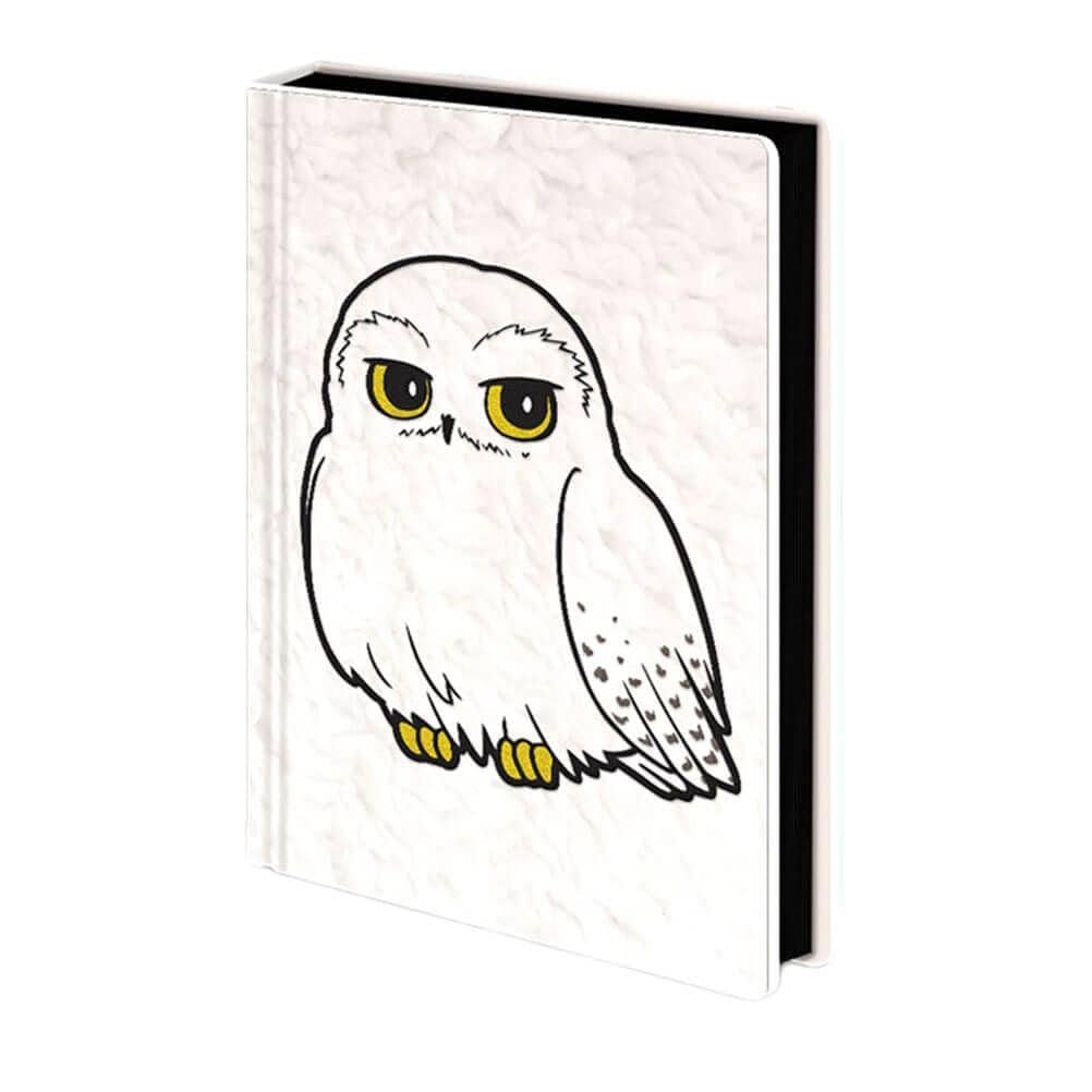 Harry Potter Hedwig Fluffy Premium A5 Notebook