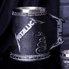 Load image into Gallery viewer, Metallica The Black Album Collectable Tankard