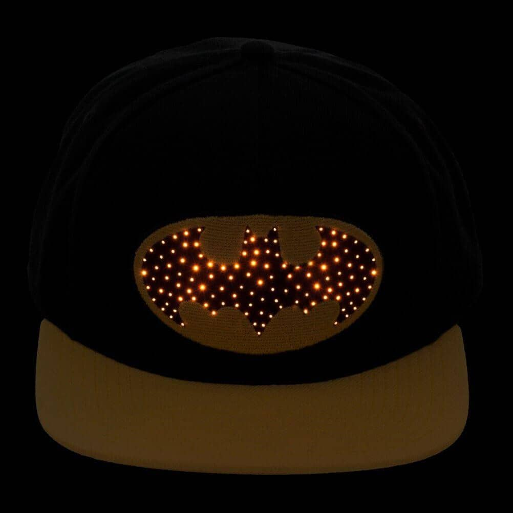 Batman Fibre Optic Logo Snapback Cap