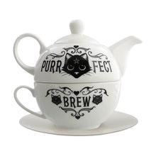 Load image into Gallery viewer, Alchemy Purrfect Brew Tea For One Set.