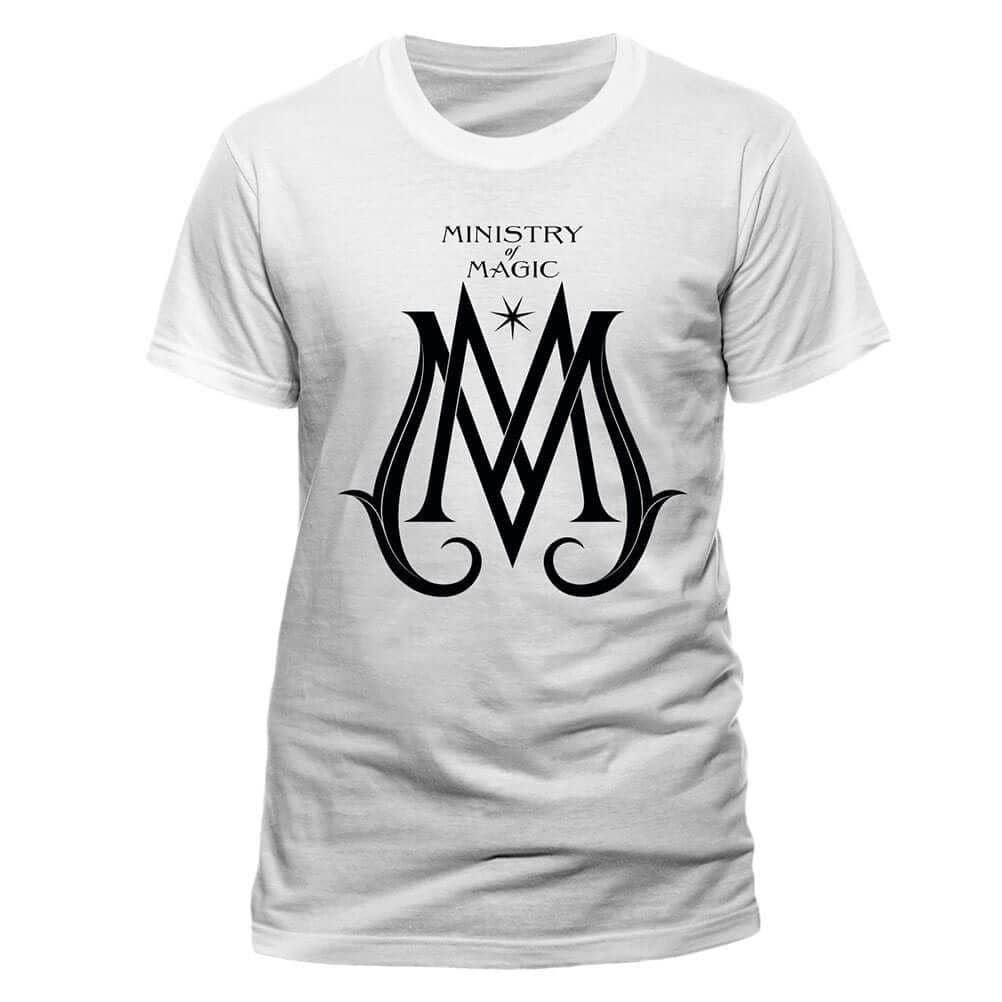 Men's Crimes of Grindelwald Ministry Deco Logo T-Shirt