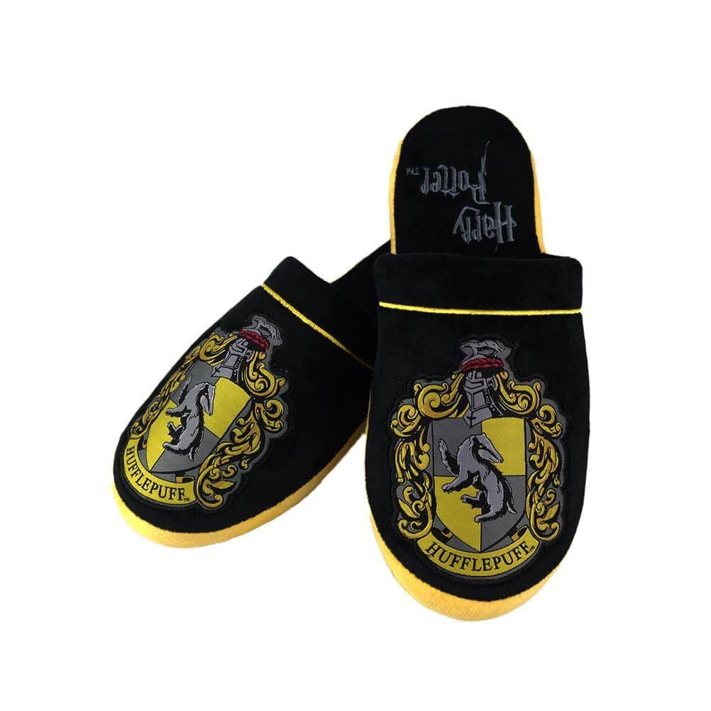 Harry Potter Hogwarts Hufflepuff Adult Mule Slippers