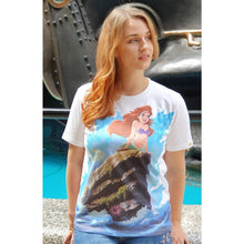 Load image into Gallery viewer, Women's Disney Little Mermaid Part Of Your World T-Shirt