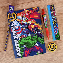 Load image into Gallery viewer, Marvel Avengers Stationery Set with Case.