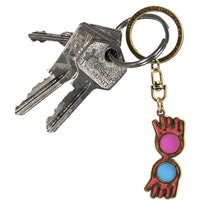 Load image into Gallery viewer, Harry Potter Luna Lovegood's Glasses Keyring