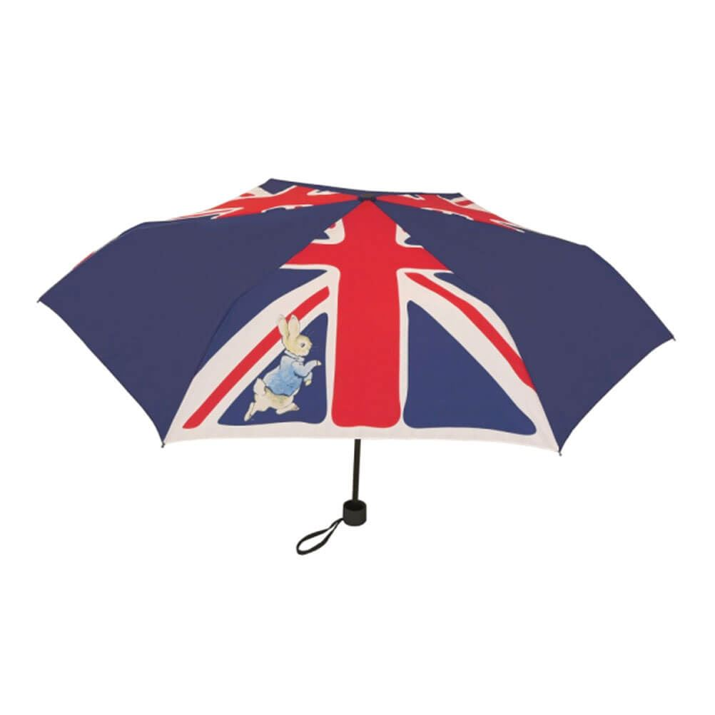 Beatrix Potter Peter Rabbit Union Jack Compact Umbrella