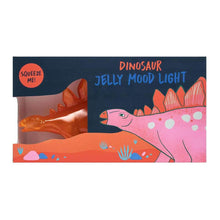 Load image into Gallery viewer, Stegosaurus Jelly Orange Mood Light.