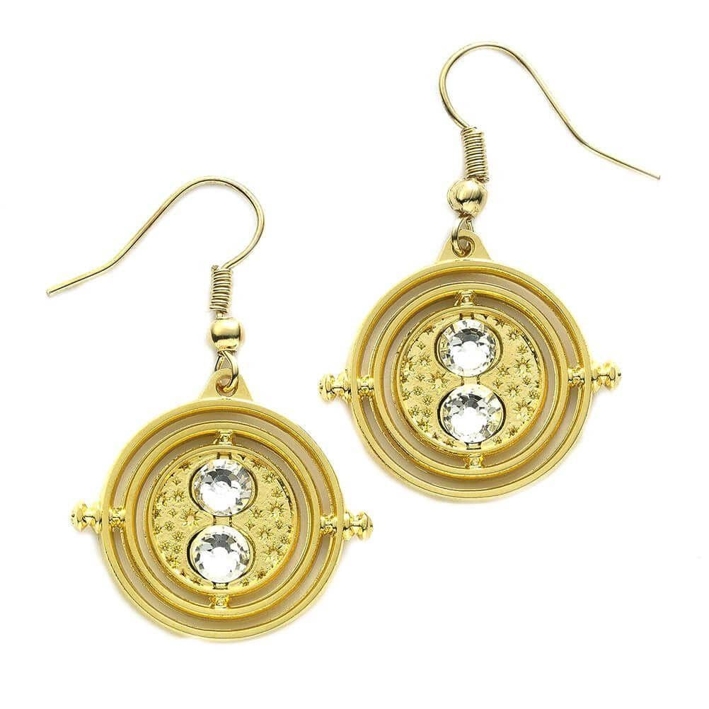 Harry Potter Gold Plated Fixed Time Tuner Earrings
