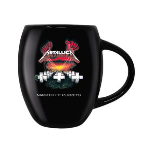 Metallica Master of Puppets Oval Mug.