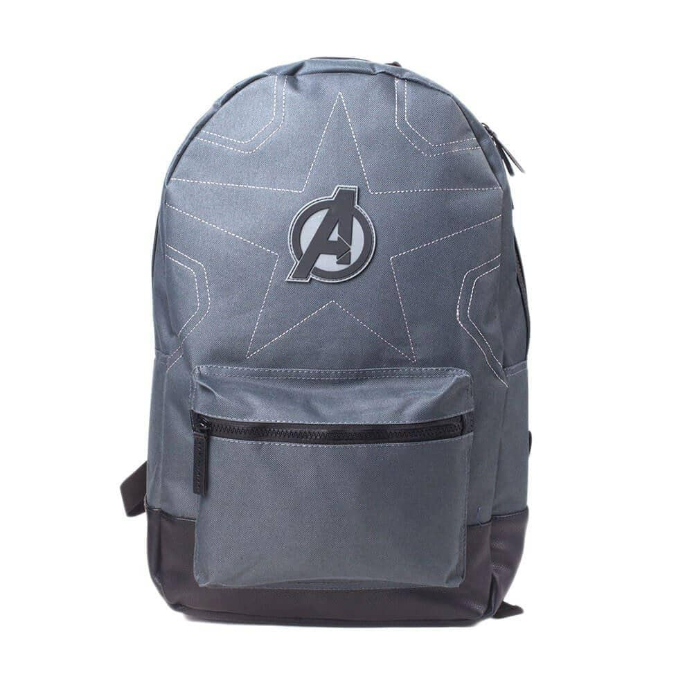 Front View of the Marvel Avengers Logo Laptop Backpack