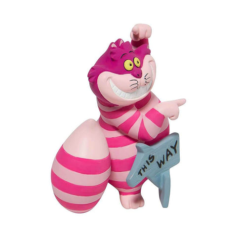 Disney Showcase Cheshire Cat 'This Way, That Way' Mini Figurine
