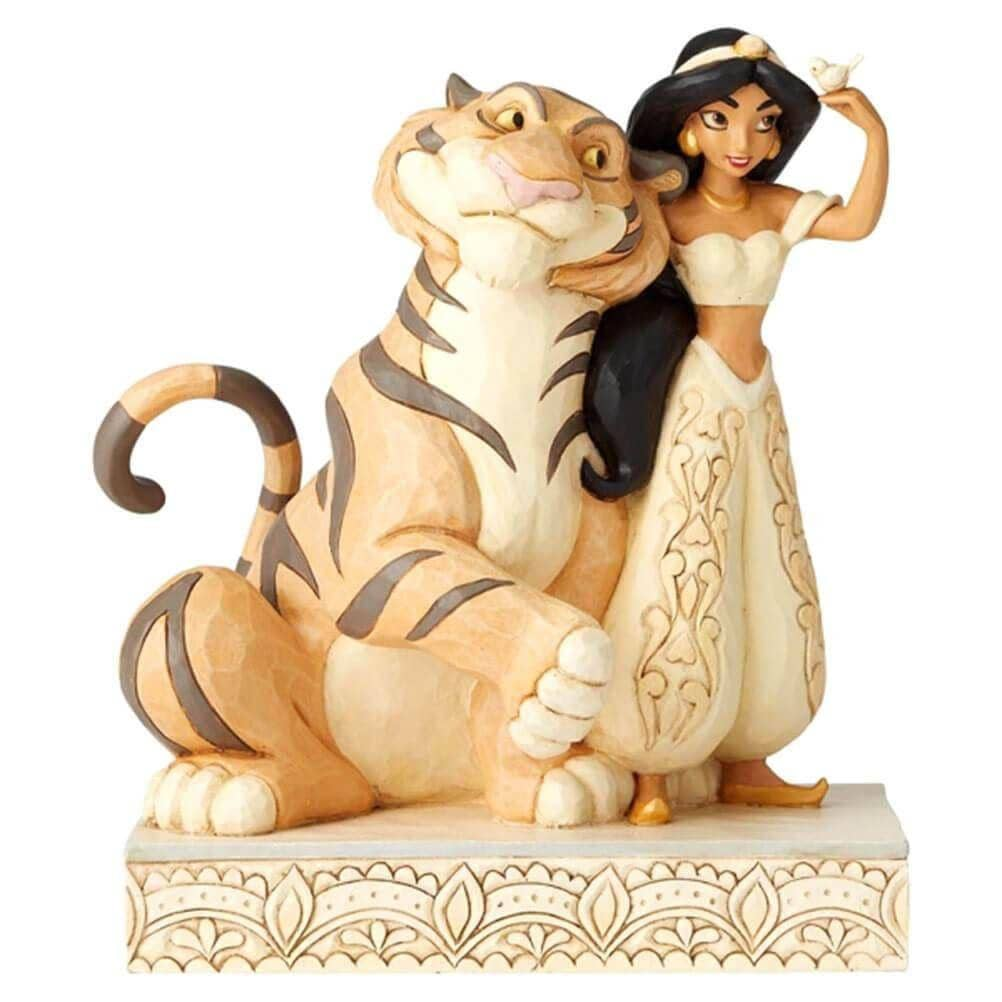 Front View of Disney Traditions Jasmine 'Wondrous Wishes' Figurine