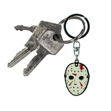 Load image into Gallery viewer, Friday the 13th Jason Mask Keyring