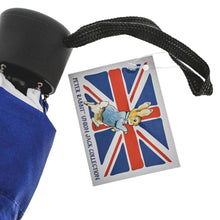 Load image into Gallery viewer, Beatrix Potter Peter Rabbit Union Jack Compact Umbrella