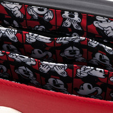 Load image into Gallery viewer, Loungefly x Disney Mickey Mouse Quilted Cross Body Bag