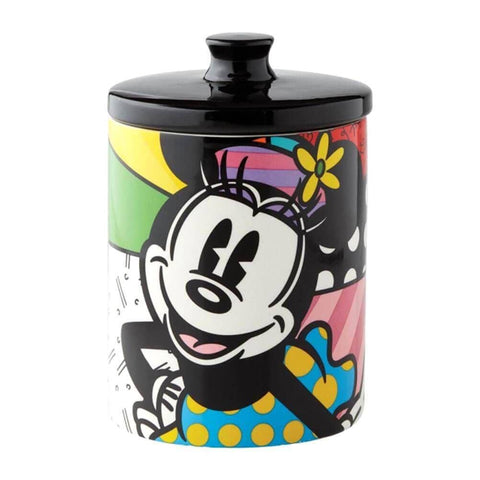 Disney Britto Minnie Mouse Cookie Jar