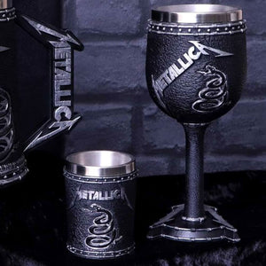Metallica The Black Album Collectable Goblet