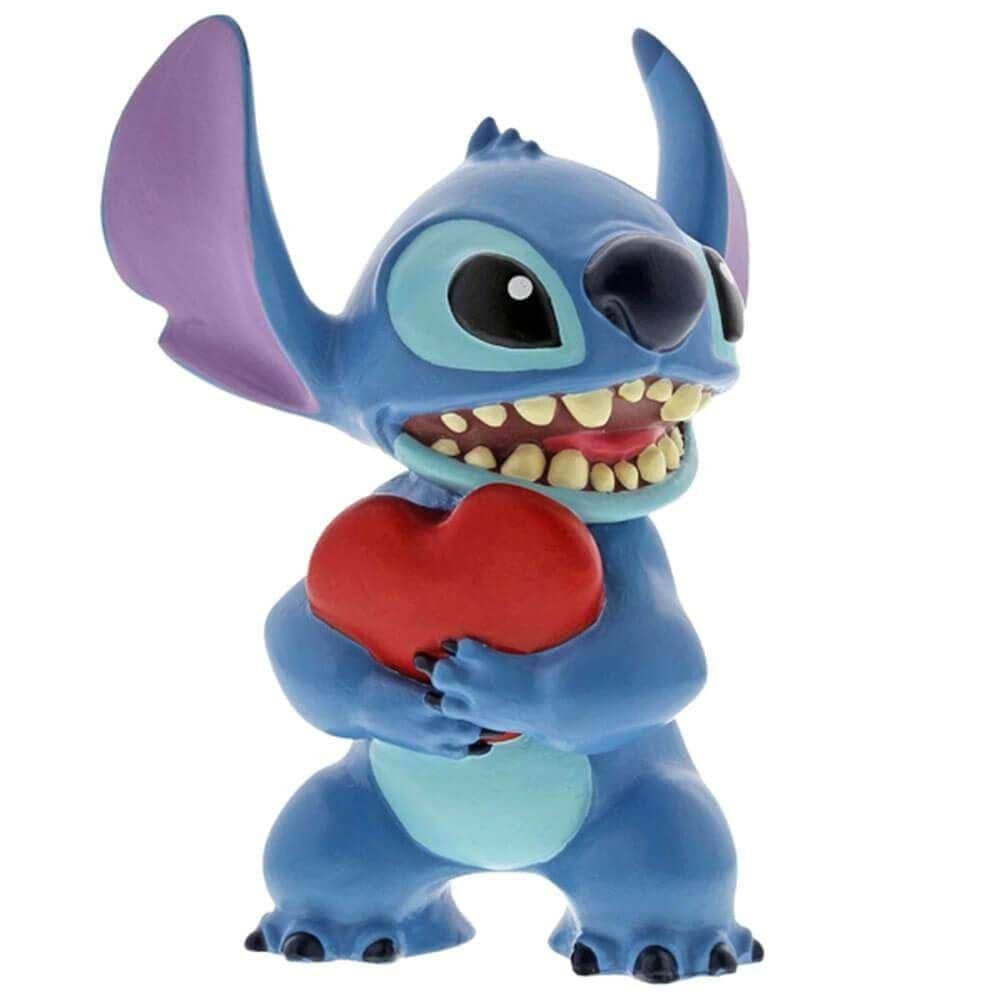 Disney Stitch Heart Mini Figurine