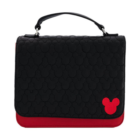 Loungefly x Disney Mickey Mouse Quilted Cross Body Bag