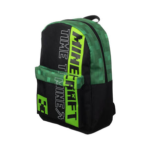 Minecraft Creeper Time To Mine Laptop Backpack