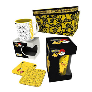 Pokemon Pikachu Drinkware Gift Box.