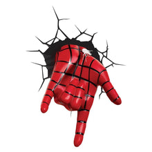 Load image into Gallery viewer, Marvel Spider-Man Web Slinger Hand 3D Wall Light