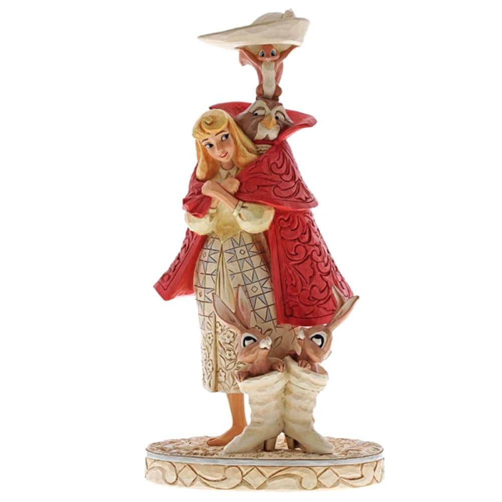 Disney Traditions Aurora as Briar Rose 'Playful Pantomime' Figurine