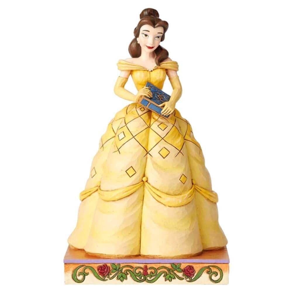 Front View of Disney Traditions Belle Princess Passion Figurine
