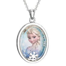 Load image into Gallery viewer, Frozen Elsa Silver Plated Shaker Pendant Necklace