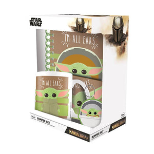 Star Wars The Mandalorian The Child Bumper Gift Set.