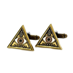 Fantastic Beasts and Where to Find Them Triangle Eye Cufflinks