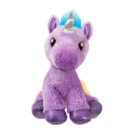 "Sparkle Tales 12"" Electra Purple Unicorn Plush Toy"