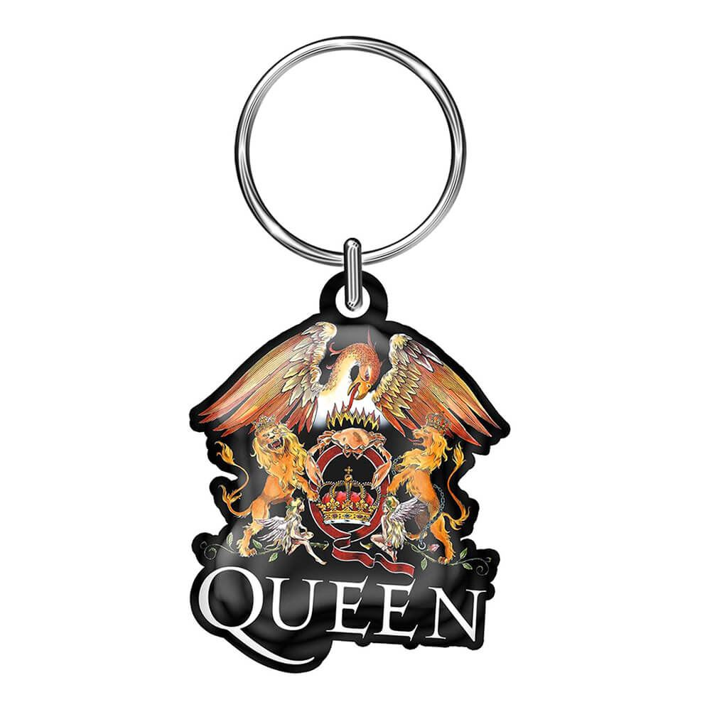 Queen Logo Collectable Metal Keyring