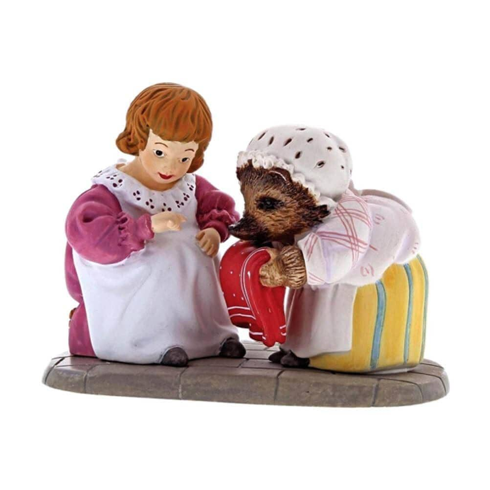 Beatrix Potter Mrs. Tiggy-Winkle and Lucie Mini Figurine