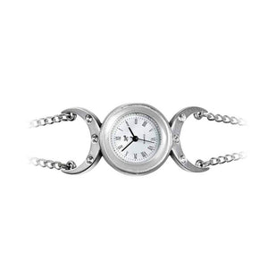 Alchemy Gothic Triple Goddess Pewter Wristwatch