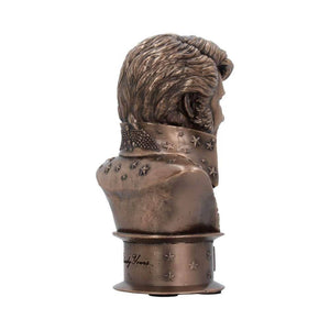 Elvis Presley Small Collectable Bronze Bust