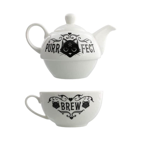 Alchemy Purrfect Brew Tea For One Set.